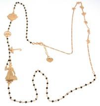 Long Necklace 90 cm, 925 Silver, Mary, Hat, Umbrella, Stars, le Favole image 1