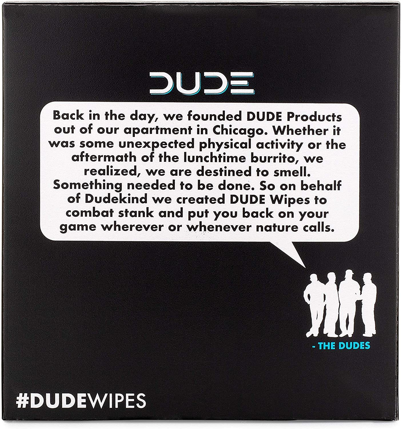 DUDE 2X Box Wipes Flushable Wet 15 wipes per Box 30 Individually Wrapped Packs