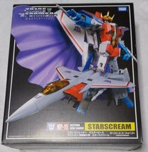 Takara Tomy Transformers Masterpiece MP-11 Starscream Action Figurine Ut... - $288.87
