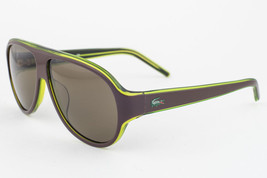 Lacoste Brown Green / Brown Sunglasses L644S 210 - $77.91