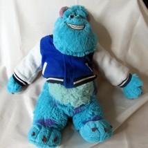 "Build a Bear 18"" Monsters Inc Sully w/ University Varsity Jacket Stuffed... - $29.99"