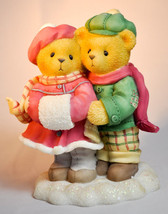 Cherished Teddies: Carlin and Janay - 533874 - When I Count My Blessings - $18.80