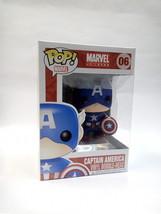 Funko POP Marvel Universe Captain America Vinyl Figure #06 - $31.41