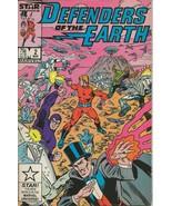 Defenders of the Earth #2 ORIGINAL Vintage 1987 Marvel Comics - $9.89