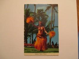 Hawaii Tahitian Tamure Dancer Waikiki Kodak Hula Show HI Continental Pos... - $5.99