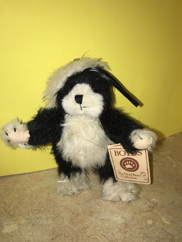 Boyds Bears Stuffed Plush Small Kitty Cat Kitten ~ Frannie ~ Ornament With Tags