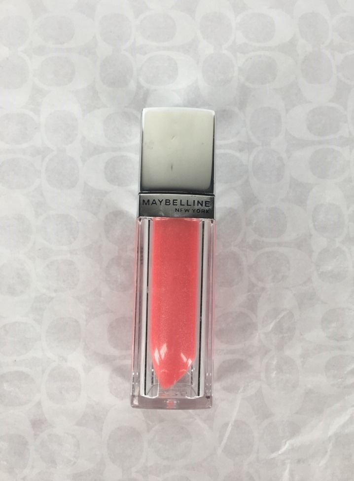 Primary image for NEW Maybelline Color Elixir Lip Gloss in Glistening Coral #525 ColorSensational