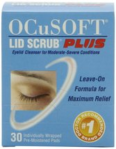 OCusoft Lid Scrub Plus Pre-Moistened pads (30 ct) $2.00 off coupon - $15.99