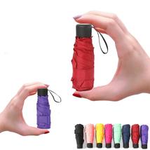 Mini Pocket Umbrella Women UV Small Umbrellas 180g Waterproof Convenient... - $13.98