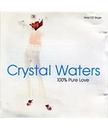 100% Pure Love by Crystal Waters Cd - $10.99