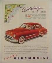 "1948 FUTURMATIC Oldsmobile ""98"" Hydro-matic Drive Print Ad Whirlaway on ... - $9.99"