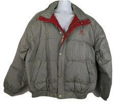 Timberland Weathergear Goose Down Bangor Jacket Coat Mens Size L NEW - $98.99