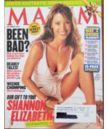 Shannon Elizabeth, Hugo Weaving,  Eva Longoria @ Maxim Dec 2003 - $9.95