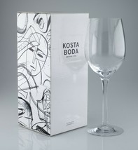 Kosta Boda Line XL Wine Glass 30 cc 7021513 w/ Box - $51.20