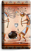 KOKOPELLI SOUTHWEST HOPI FERTILITY SPIRITS PHONE TELEPHONE COVER PLATE A... - $11.99