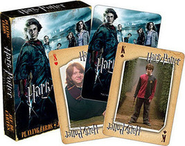 Harry Potter and the Goblet of Fire Movie Illustrated Playing Cards, NEW SEALED - $6.19