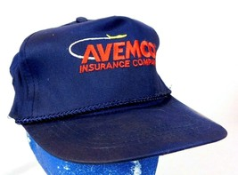 AVEMCO Aircraft Insurance Co Blue Baseball Cap Hat Snapback Airplane - $5.99