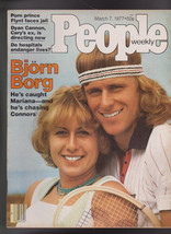 People Magazine Bjorn Borg Larry Flynt March 7 1977  Free S/H - $19.95