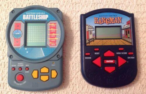 Milton Bradley Electronic Games - Battleship & Hangman, Classic Games