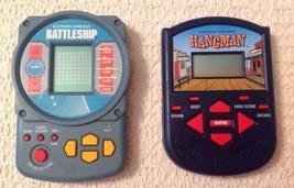 Milton Bradley Electronic Games - Battleship & Hangman, Classic Games  - $10.45