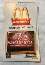 Nos Vintage Mcdonalds Fridge Magnet 51686 Sign - $15.97