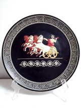 The Chariot of ZEUS Greek Museum Replica Wall Plate #5/30 J SPYROPOULOS ... - $18.80