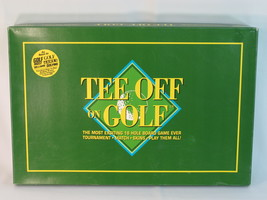 Tee Off on Golf 1994 Board Game 100% Complete Excellent Plus Condition - $24.63