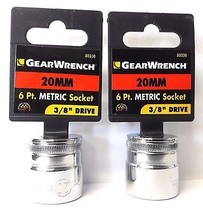 "Gearwrench 80330 3/8"" Drive 20mm 6 Point Socket 2PCS - $2.97"