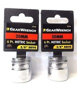 """Gearwrench 80330 3/8"""" Drive 20mm 6 Point Socket 2PCS - $2.97"""