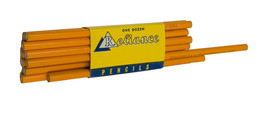 Vintage Reliance Magnolia #2363 Yellow Pencils 1 Dozen Unused  - $9.79