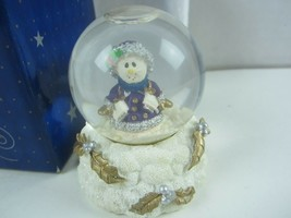 "Papel Giftware Miniature Snow Globe Snowman ""Winterfest"" - $13.99"