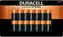 Duracell C Alkaline Batteries 14-pack - $37.99