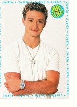 Justin Timberlake Nsync teen magazine pinup clippings 90's Cross necklace - $1.50