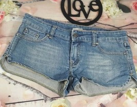 Refuge Women's Shorts Sz 5 Denim Distressed Jean Short Mini Low Rise Sum... - $4.99