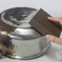 Carborundum Magic Sponge Brush Kitchen Home Washing Cleaning Cleaner Rub Pot - $1.88