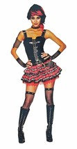 American Punk Girl Halloween Costume - Adult Extra Small Size 0-2 - $20.89