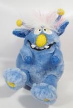 "Gemmy Monster Maniacs Blue Singing Plush Toy ""Mahna Mahna"" & Happy Birthday - $18.80"