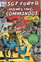 Sgt. Fury and His Howling Commandos Comic Book #86 Marvel 1971 FINE+ - $11.64