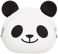 P+G Design Mimi POCHI Friends Silicone Coin Purse, Panda Smile - Cute Change Po - $30.99