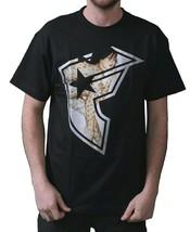Famous Stars & Straps Tf Tiffany Boh Camiseta Negra 104484 Nwt