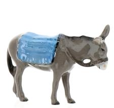 Hagen-Renaker Specialties Ceramic Nativity Figurine Donkey with Blanket image 9