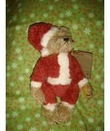 Boyds Bears Nicholas Plush Santa Elf Bears - $16.99
