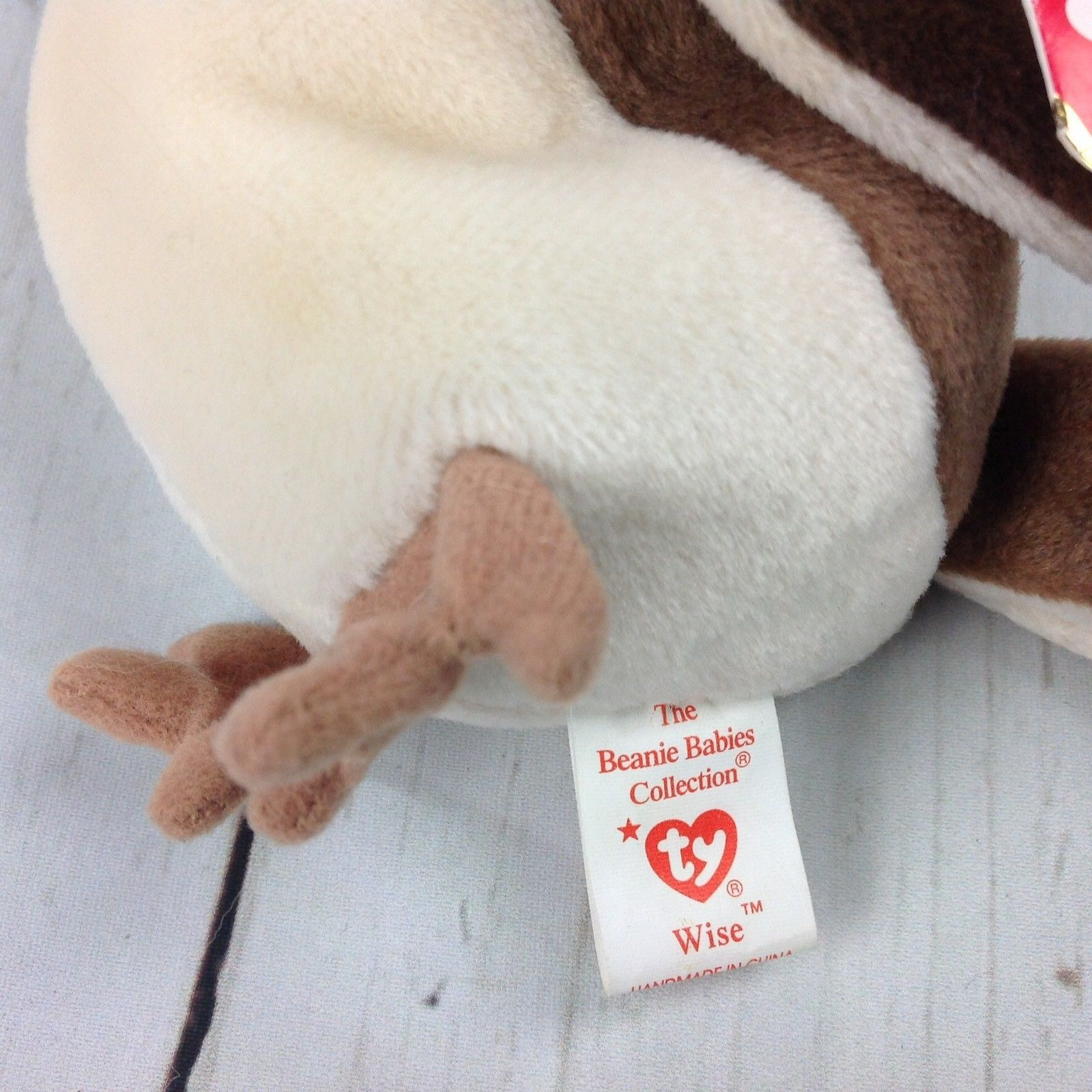 eeda08f29d8 TY Beanie Baby Wise Class of 98 Owl Retired and 50 similar items