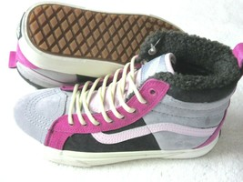 Vans Womens Sk8- Hi 46 MTE Dx All Weather Boots Lilac Gray Obsidian Size 8 NWT - $71.52