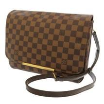 LOUIS VUITTON Hoxton GM Damier Canvas Ebene N41253 LV Shoulder Bag France - $1,053.10
