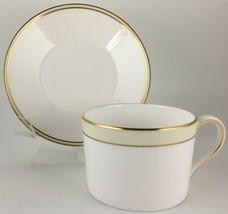 Wedgwood Vera Wang Champagne Duchesse Cup & saucer - $25.00
