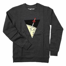 Sweatshirt The Adventures of Tintin: The lunar rocket - Dark Grey X-LARGE