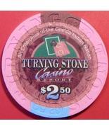 $2.50 Casino Chip. Turning Stone, Verona, NY. V33. - $5.50