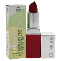 Clinique Pop Matte Lip Colour + Primer - # 5 Graffiti Pop by Clinique for Women  - $19.99