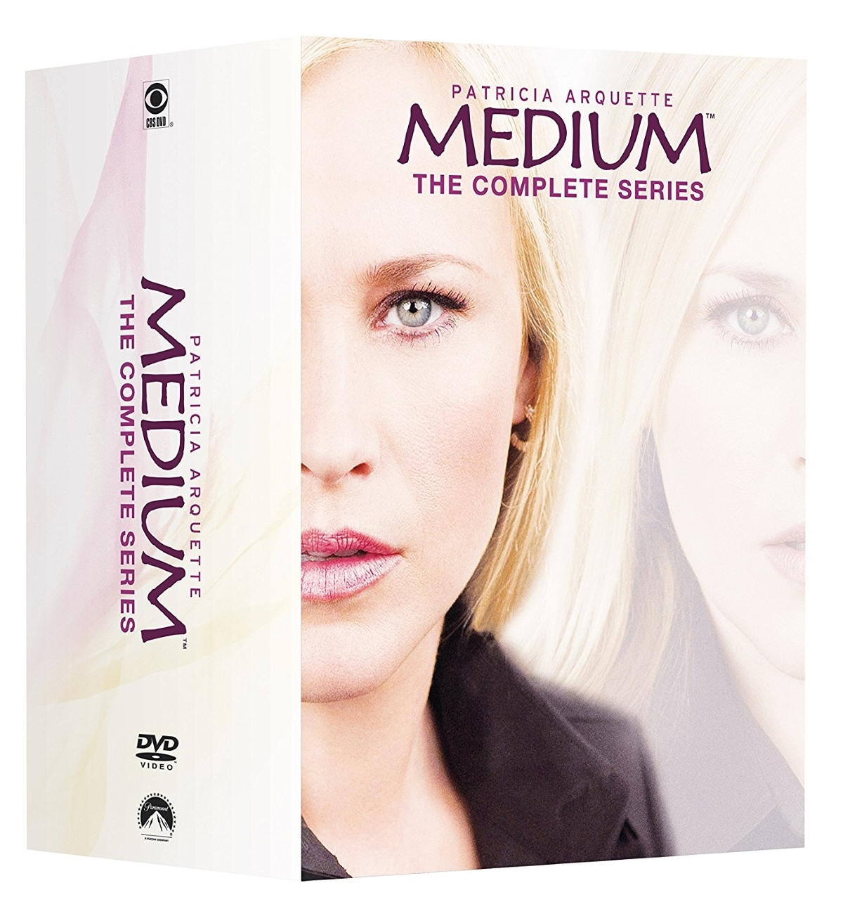Medium the complete series season 1 7  dvd 2017  35 disc  1 2 3 4 5 6 7